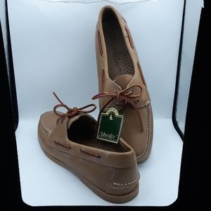 Brown Boat Shoes Leather
